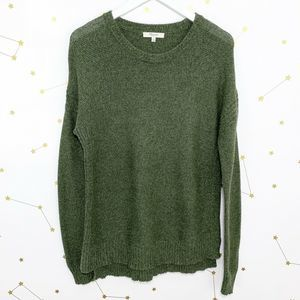 Madewell • Army Green Crewneck Pullover Sweater